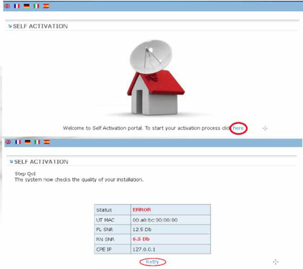 DSL Modem Installation